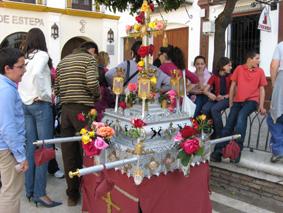 Una de las cruces de mayo presentada en el concurso de 2010.