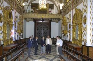 Visita a Estepa de Paulino Plata, consejero de Cultura 01