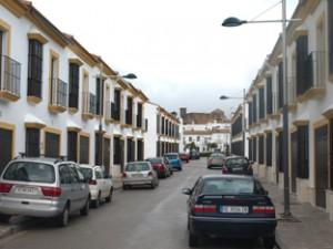 Imagen de la barriada en la que irá ubicada la nueva guardería infantil