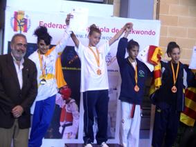 Belén González, campeona de Taekwondo
