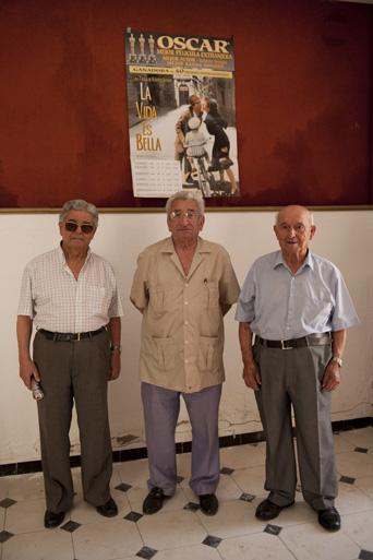 Blanco, Luque y Rivero, tres vidas unidas al cine en Estepa