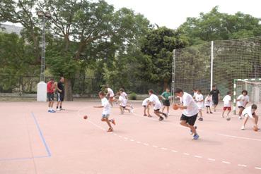 """Campus Balonmano """"Rafa Baena"""". Foto: Quino Castro."""