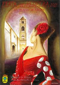 Cartel anunciador Feria de Pedrera 2011