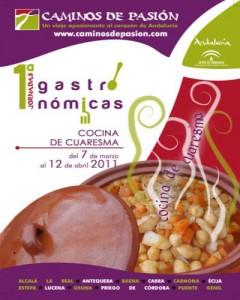 cartel Cocina de Cuaresma