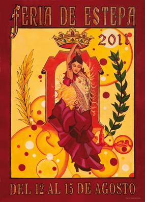 Cartel de la Feria de Estepa 2011, obra de José Antonio Galán