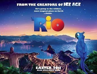 Cartel de la película de animación Río