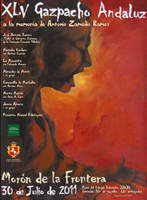 Cartel del Gazpacho Andaluz de Morón