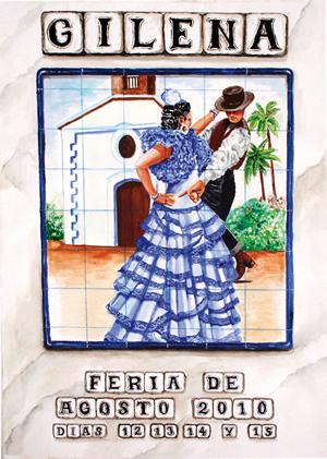 Cartel Feria de Gilena 2010