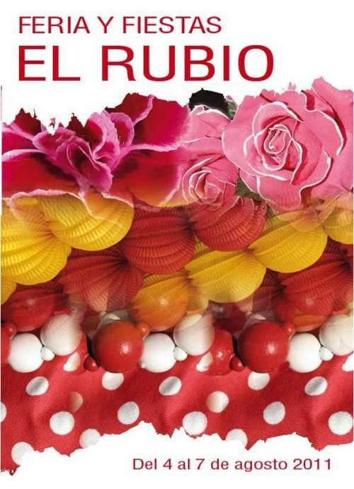 cartel feria El Rubio 2011