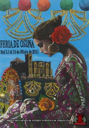 Cartel Feria de Osuna 2011