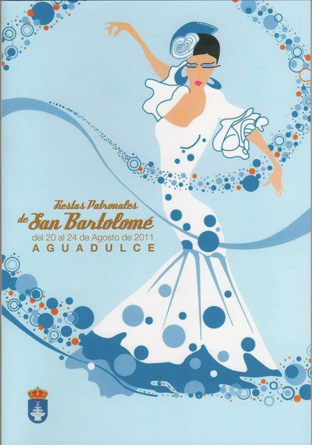 Cartel_ganador_2011 Feria de Aguadulce