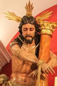 Cristo Amarrado a la Columna de la Hermandad de Paz y Caridad de Estepa
