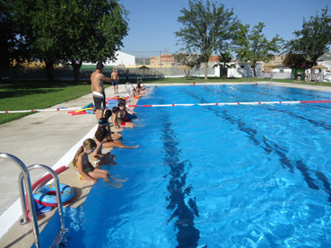 cursillo de natacion - niños 2011