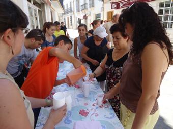 degustacion de gazpacho, Foto del Ayuntamiento de Casariche