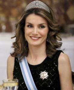 Doña Letizia Ortiz, Princesa de Asturias