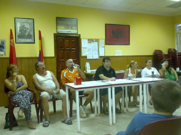 Elección del nuevo coordinador de IU Badolatosa