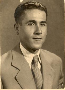 Francisco Reina, en una imagen de su juventud