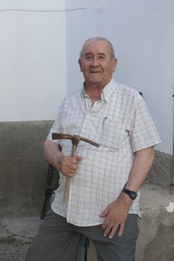Francisco Reina se dedicó a la construcción desde los 13 años