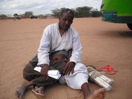 Hambruna en el Cuerno de África Foto, Cruz Roja Española