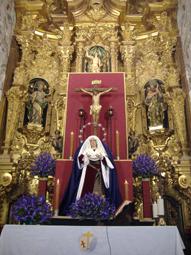 Cristo del Amor y Virgen del Valle, Estepa. Foto: Remedios Camero.
