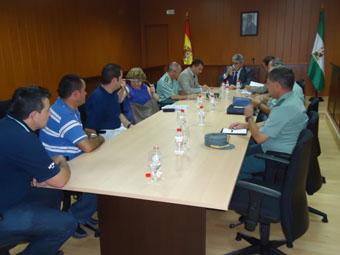 La junta local de seguridad se reunió el pasado lunes