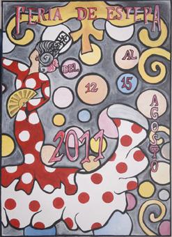 Lunares y Abanico, concurso Feria de Estepa
