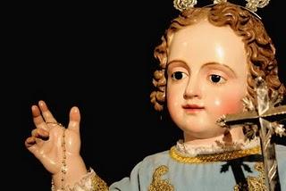 Imagen del Niño Perdido de Osuna, obra del siglo XVI.
