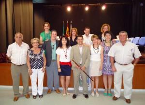 Nuevo alcalde de Casariche y equipo de gobierno