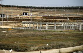 Imagen actual del polígono industrial La Molina
