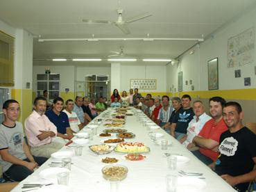participantes en curso de cocina para hombres