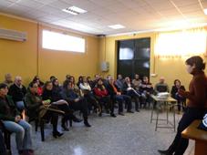 Un momento de la reunión para la elaboración del Plan de Igualdad