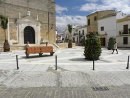 Aspecto actual de la Plaza de Guzmán y Andrés tras su remodelación