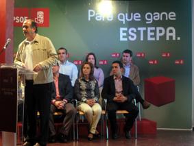 presentación candidatura PSOE Estepa
