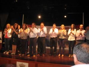 Presentación candidatura IU Casariche. Foto: Ayuntamiento de Casariche.