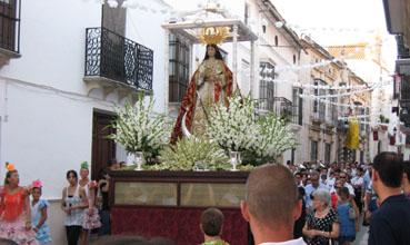 Procesión Virgen de la Asunción