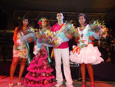 reinas damas y mister Feria de Badolatosa 2011