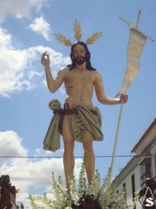Cristo Resucitado de Herrera, obra de Francisco Buiza. Foto: www.artesacro.org
