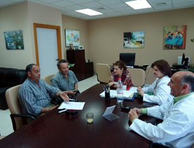 Reunión responsables municipales con Hospital de Osuna