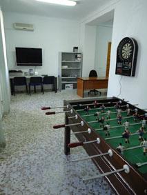 Sala de Ocio Juvenil. Foto: Ayuntamiento de Aguadulce.