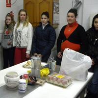 Alumnas del taller de cocina fácil