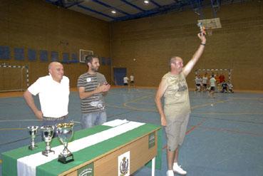 Trofeo Futbol Sala, colaborador José María Rodríguez.