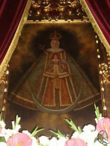 Virgen del Buensuceso, patrona de Los Corrales. Foto: www.artesacro.org
