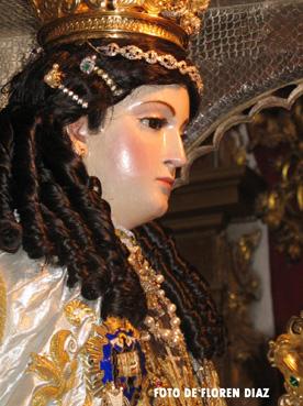 Virgen del Carmen de Estepa. Foto de Floren Díaz
