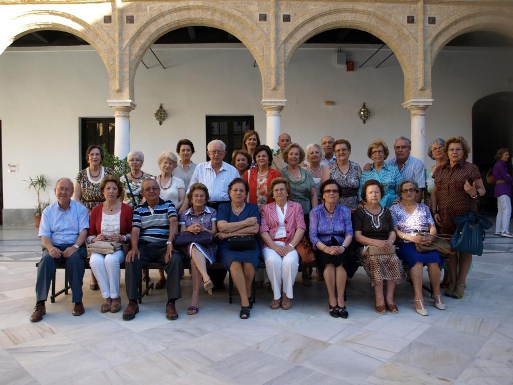 Grupo de alumnos del Aula de la Experiencia de Osuna