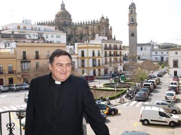 El obispo de Jerez, el ursaonense José Mazuelos