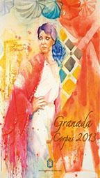 Cartel de la Feria del Corpus de Granada 2013