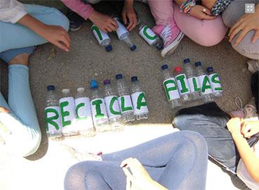 Alumnos de El Rubio visitaron planta de reciclaje