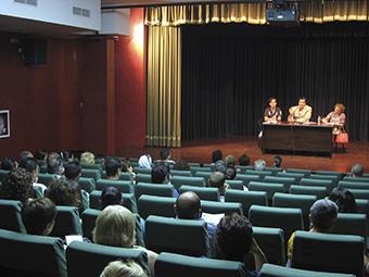 Imagen de la presentación del taller de empleo, ayer lunes