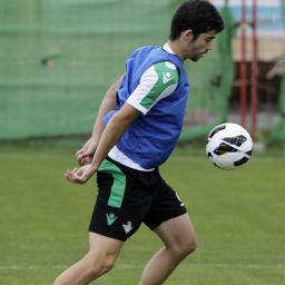 El jugador estepeño José Antonio Caro