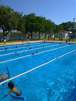 Campeonato de natación de Marinaleda, el año pasado